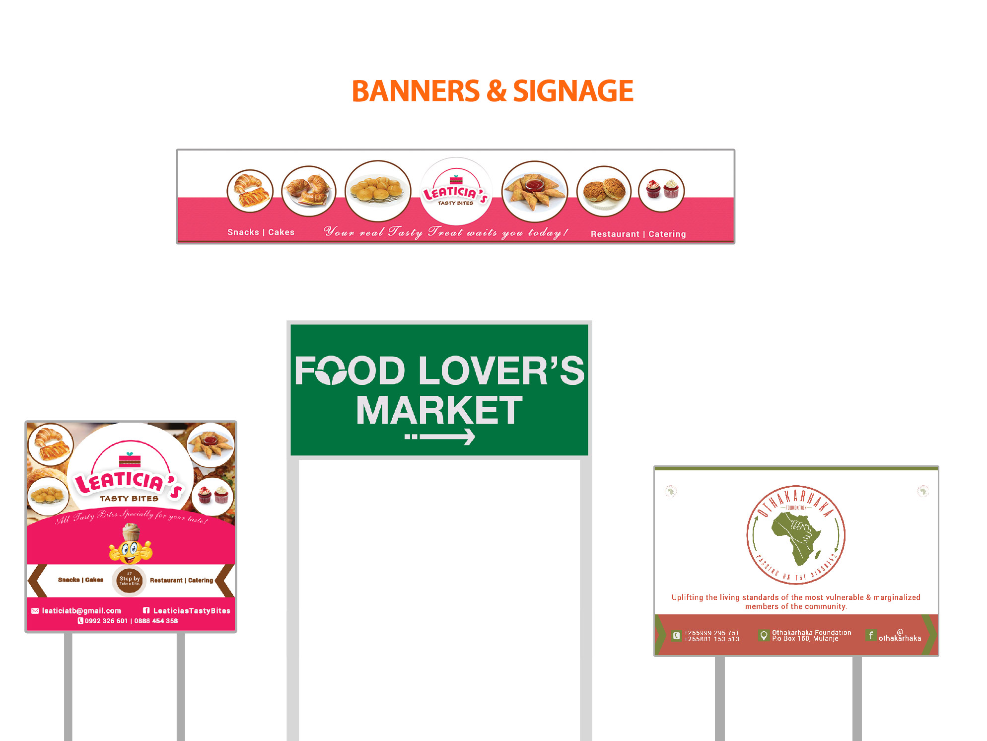 Banners & Signages